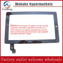 Free shipping 10.6''touch screen100% New for Chuwi VI10 PRO(64GB)touch panel with frame(275mm*168mm) Tablet PC sensor digitizer