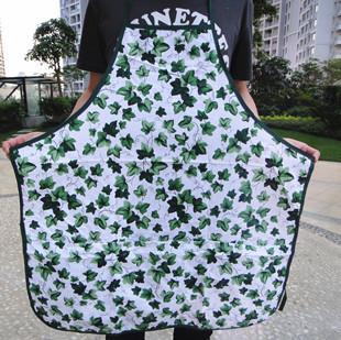 Free shipping cotton 100% Plus size white pocket the broadened aprons for adult  Wal-Mart supplier  70*80cm