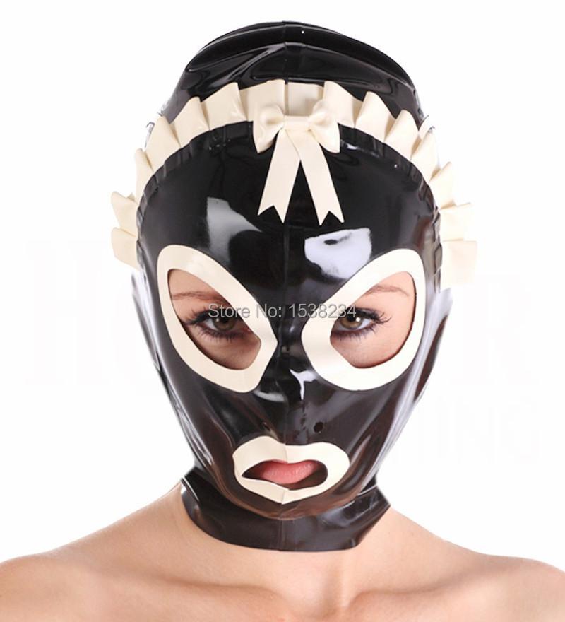 латекс маски фетиш-ещ2