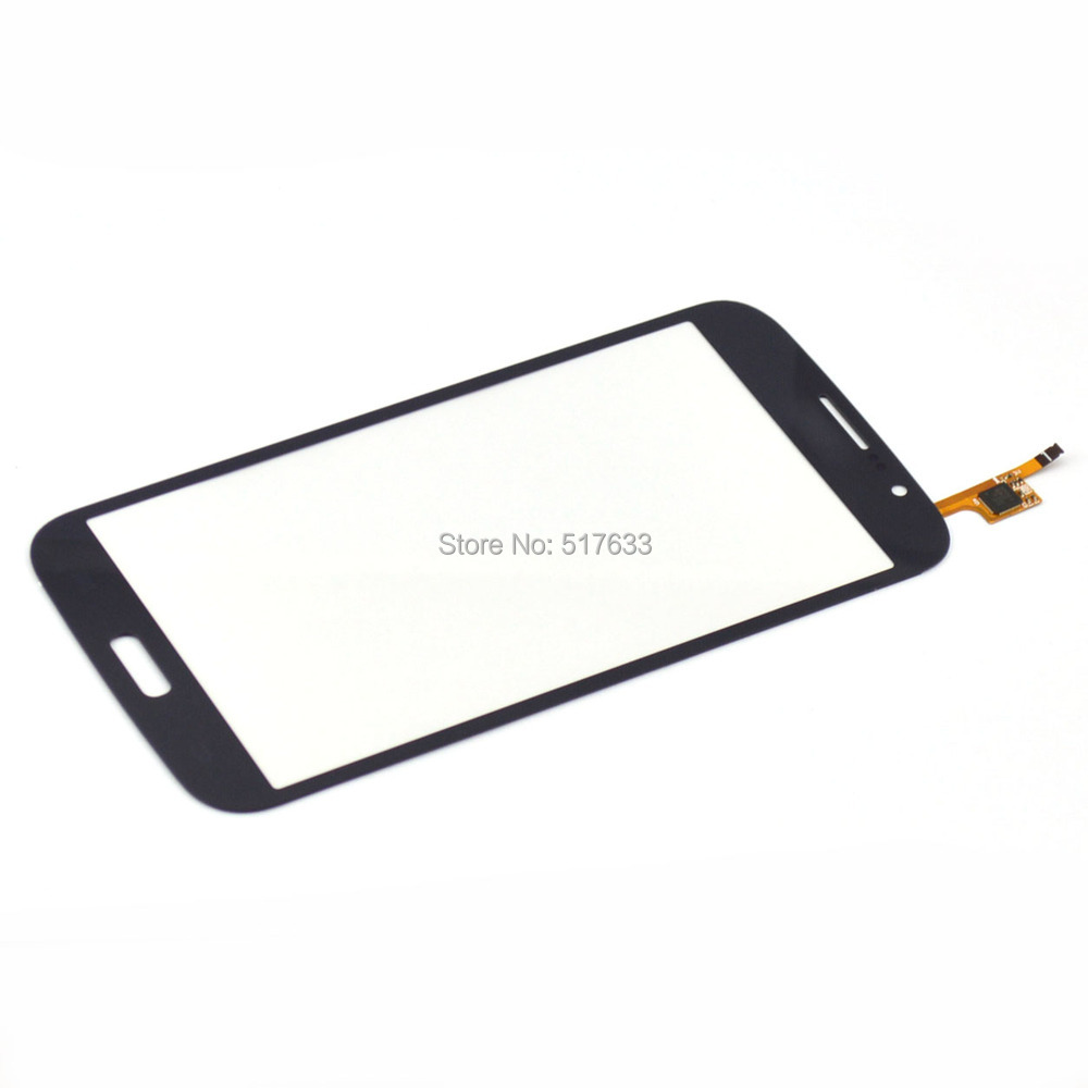 i9152 Blue Touch Screen Digitizer Glass Lens Replacements for Samsung Mega 5.8 i9152., free shipping+tracking No.