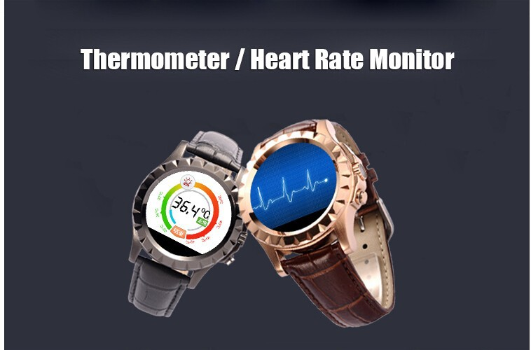 Hot Smartwatch T2 Smart Watches for Android phone Heart rate monitor thermometer Mp3/Mp4 Clock Fitness Tracker Smart electronics