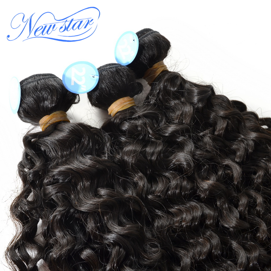 new star hair six stars high quality Peruvian virgin hair extensions Italy curl Italian tight wave curly hair3bundles mixed pack(China (Mainland))