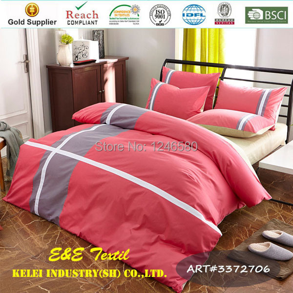 bedding set queen picture - more detailed picture about salmon