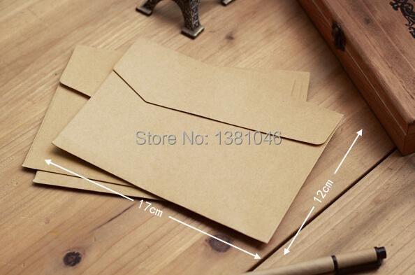Бумажный конверт 10 12