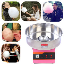 (Ship from US) Stainless Steel Commercial 1030W Full Electric Candy Floss Maker Cotton Candy Machine for Xmas Party Yield 2/ min(China (Mainland))