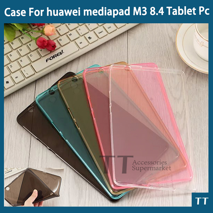 "huawei mediapad M3 case 2016 Newset Colorful Ultra-thin High TPU case huawei mediapad M3 BTV-W09 BTV-DL09 8.4"""
