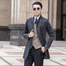 2015 new arrival Woolen overcoat suit hgih quality male winter fashion casual plus SizeS M L XL XXL 3XL 4XL 5XL 6XL 7XL 8XL 9XL (China (Mainland))