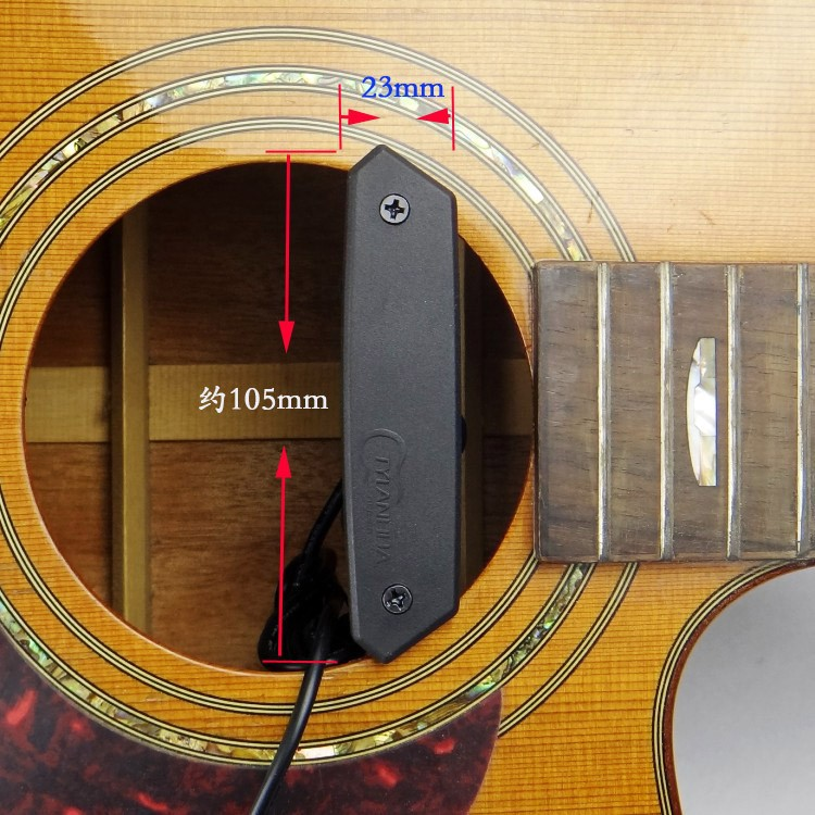 Acoustic Pickup Installation Pickup With Mic Acoustic