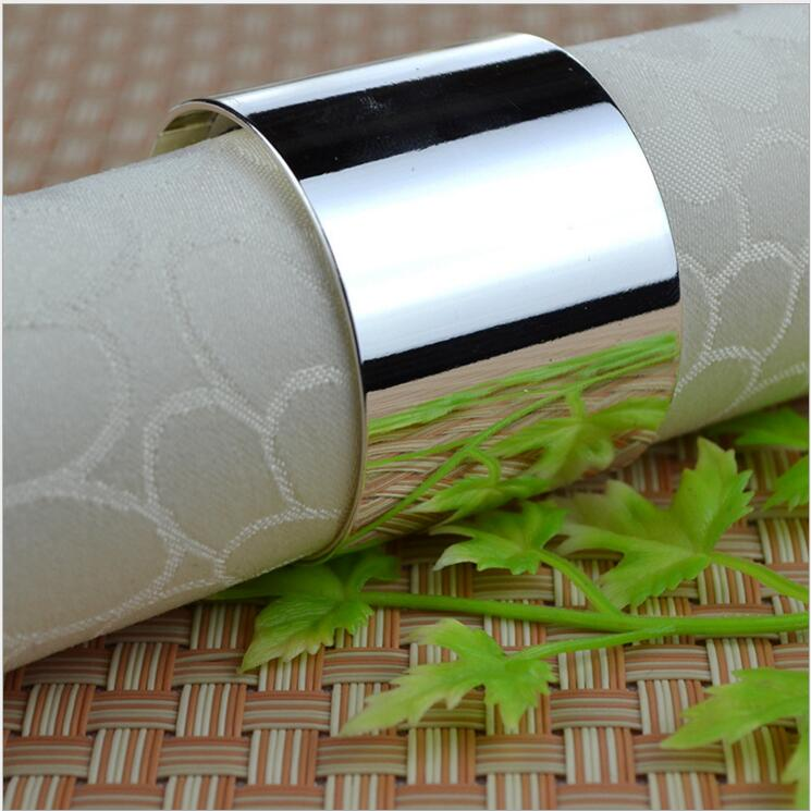 Tangpan 2016Hot Sale Silver Napkin Rings Napkin Holder Wedding Banquet Dinner Decoration