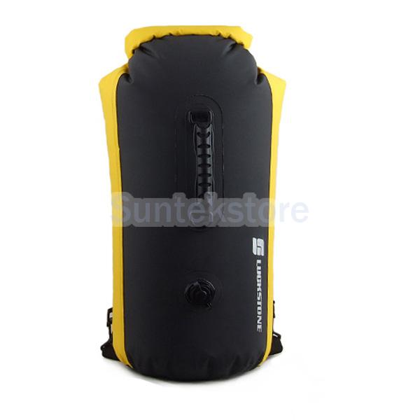 New 2014 Brand New Outdoor 35L Waterproof Drift Dry Bag For Canoe Floating Camping Boating Yellow(China (Mainland))