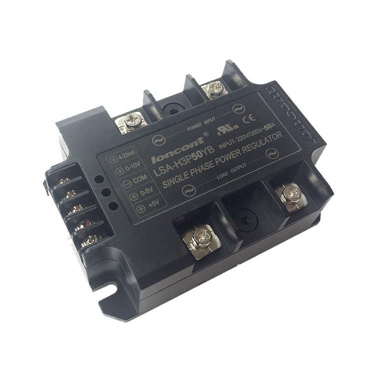 Single phase 220V 380V AC voltage regulator module 50A, Power regulator ,Power Stabilizer LSA-H3P50YB