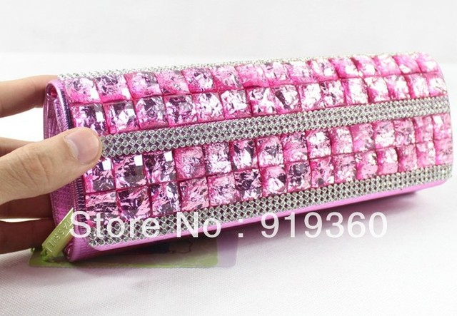 2013 new arrival evening bags , Rhinestone clutch bag with long chain, shoulder bags,retro handbas,,free shipping