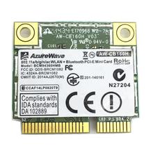 For Azurewave AW-CB160H 802.11abgn/11ac WiFi+BT Bluetooth 4.0 Broadcom BCM94360HMB 1300Mbps Mini PCI-E Card(China (Mainland))