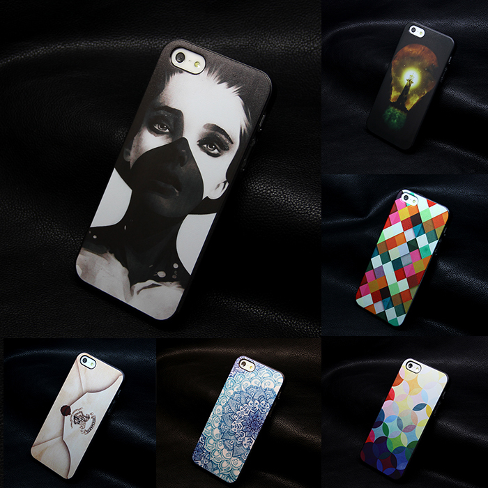 Hot sale new design print hard black For iphone 4 4s casescell phone cases covers for iphone4 4s(China (Mainland))