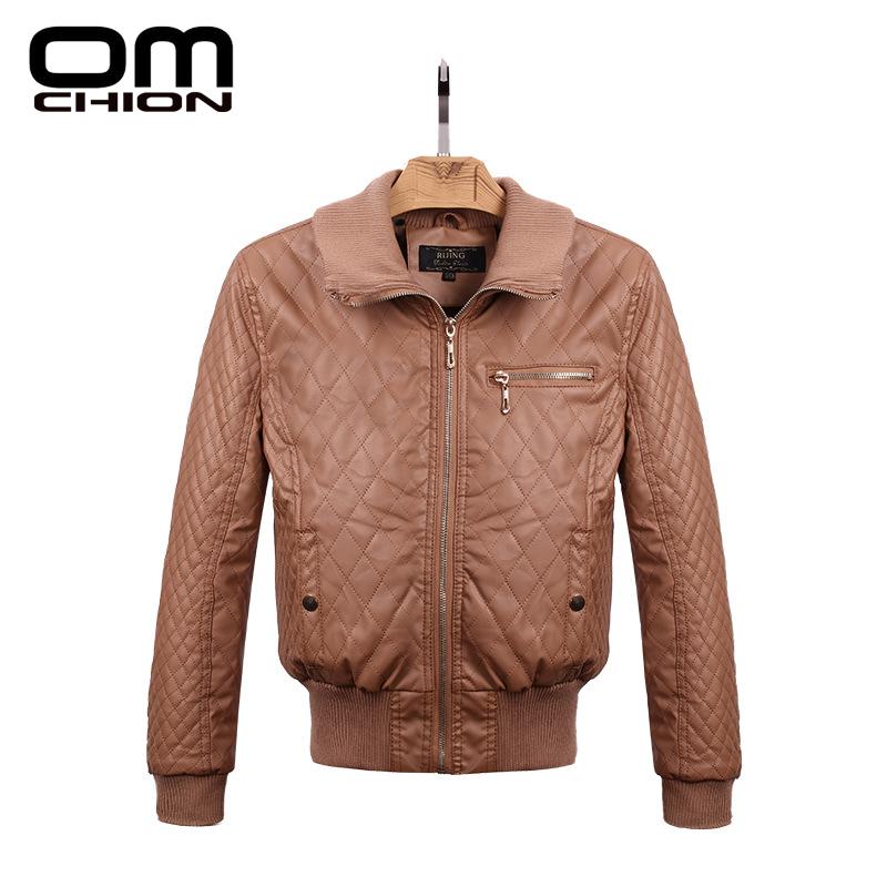 Jaqueta De Couro 2016 Autumn Winter New Brand Motorcycle Leather Jacket Women Elegant Plus Size Thick Warm Coat Jackets WPY02(China (Mainland))