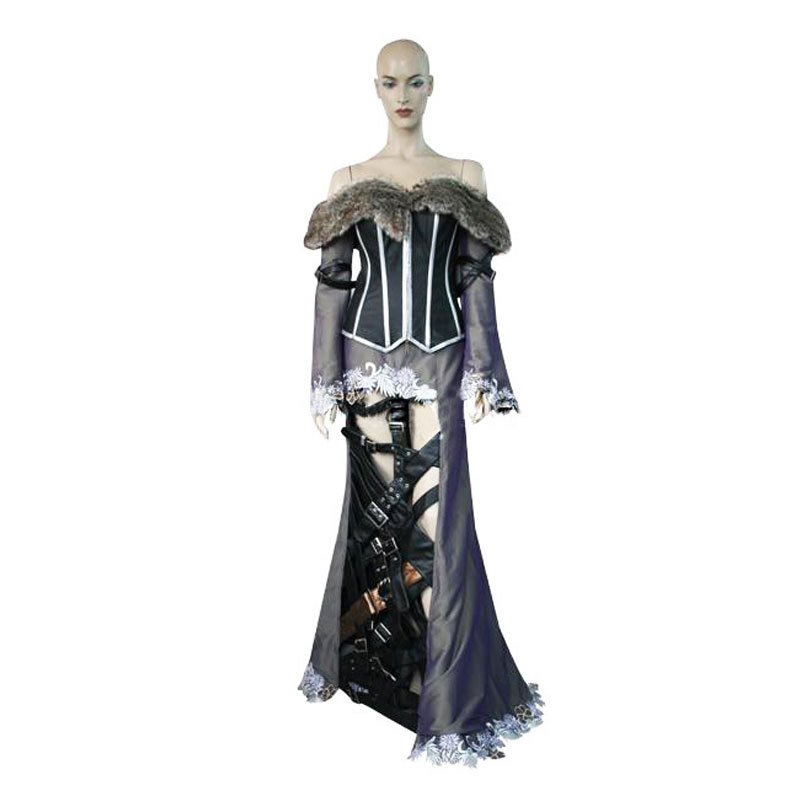 2014 high quality Beautiful Party Queen Final Fantasy X 10 - Beautiful Halloween Costumes