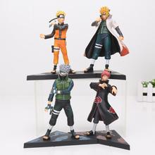 Buy 2pcs/set 15CM Naruto Shippuden Namikaze Minato Uzumaki Naruto Kakashi Sasori PVC Action Figure Model toy for $12.72 in AliExpress store