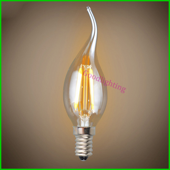 filament led bulb edison bulbs e14 2w 4w warm white chandeliar led. Black Bedroom Furniture Sets. Home Design Ideas