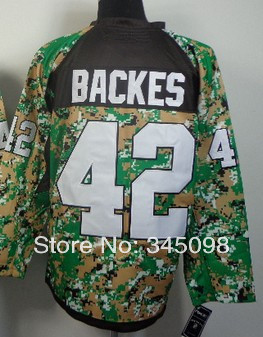 Free Shipping,wholesale #42 David Backes Men's Camo 2014 New Embroidery/Sewing logos Ice hockey jerseys Cheap Sale(China (Mainland))