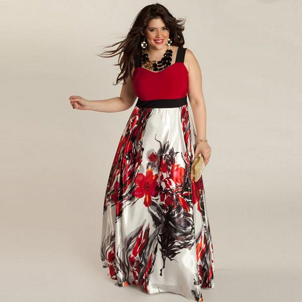 Платье длинное летнее женское