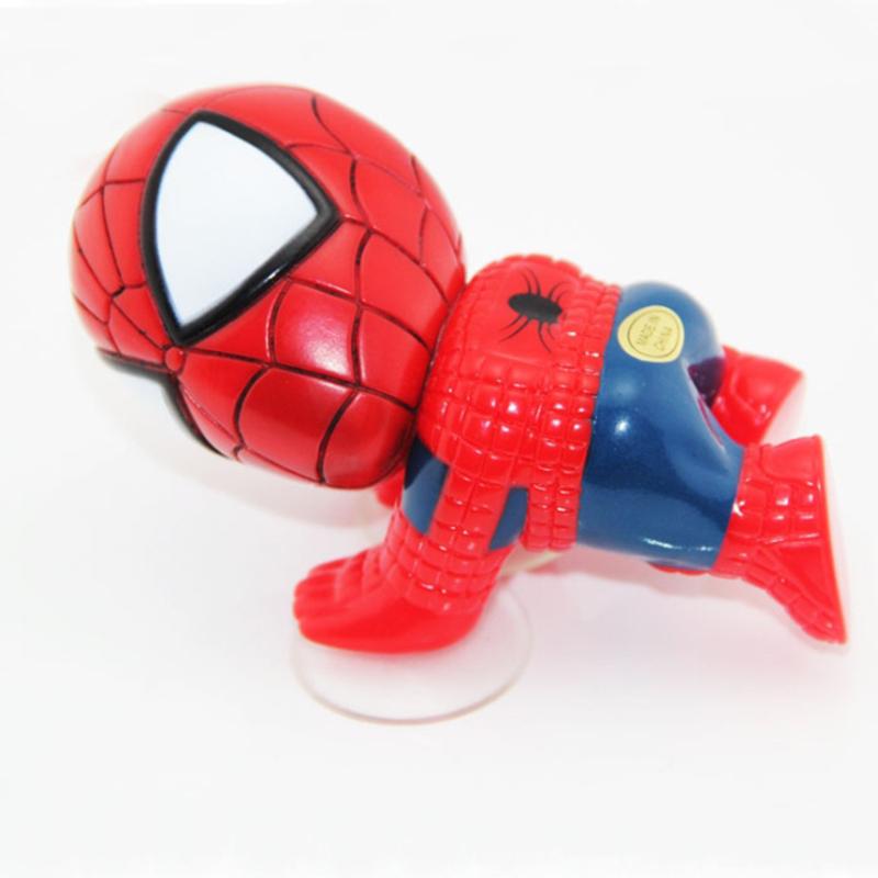 Гаджет  Car Styling Spiderman Car Sticker Climbing Spider Man Window Sucker Spider-Man Hanging Doll Car Home Interior Decoration None Автомобили и Мотоциклы