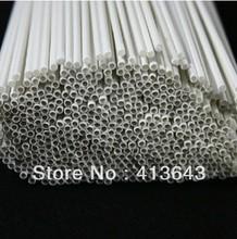 Wholesale Diy handmade construction  ABS Round pipe tube diameter 2mm length 50cm ABS circular plastic tube,  model-making(China (Mainland))