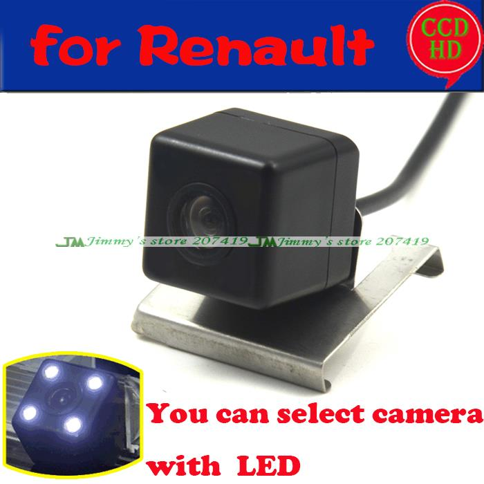car Reverse Parking Rear View Car License Plate Light Camera Wireless wired for sony ccd Renault Duster 2013 LEDS night vision(China (Mainland))
