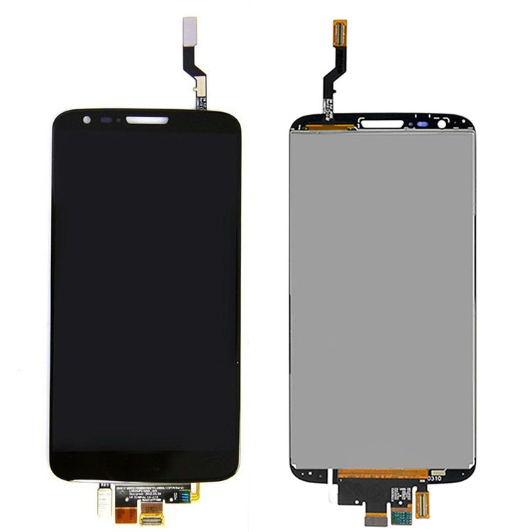 Black New Replacement Part For LG Optimus G2 D802 D805 D800 F320 LS980 LCD Display+Touch Screen Glass Panel Digitzer