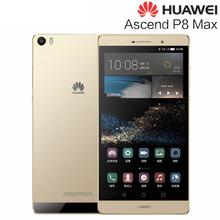 Hot Original Huawei P8 max 6.8'' EMUI 3.1 Smartphone Phablet Hisilicon Kirin 935 2.2GHz ROM 64GB+RAM 3GB GSM & WCDMA & FDD-LTE(China (Mainland))