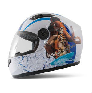 T866 Children's Motorcycle Helmet Ice Age Safety Cute Full Face Kids' Helmets 4 colors S7102 - E-Level Gift Limited store