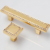 96mm 24K Gold Drawer Pull Gold Zinc Alloy Diamond Cabinet  Knobs Handle Home Door Knob Pulls with K9 Crystal Diamond Handles