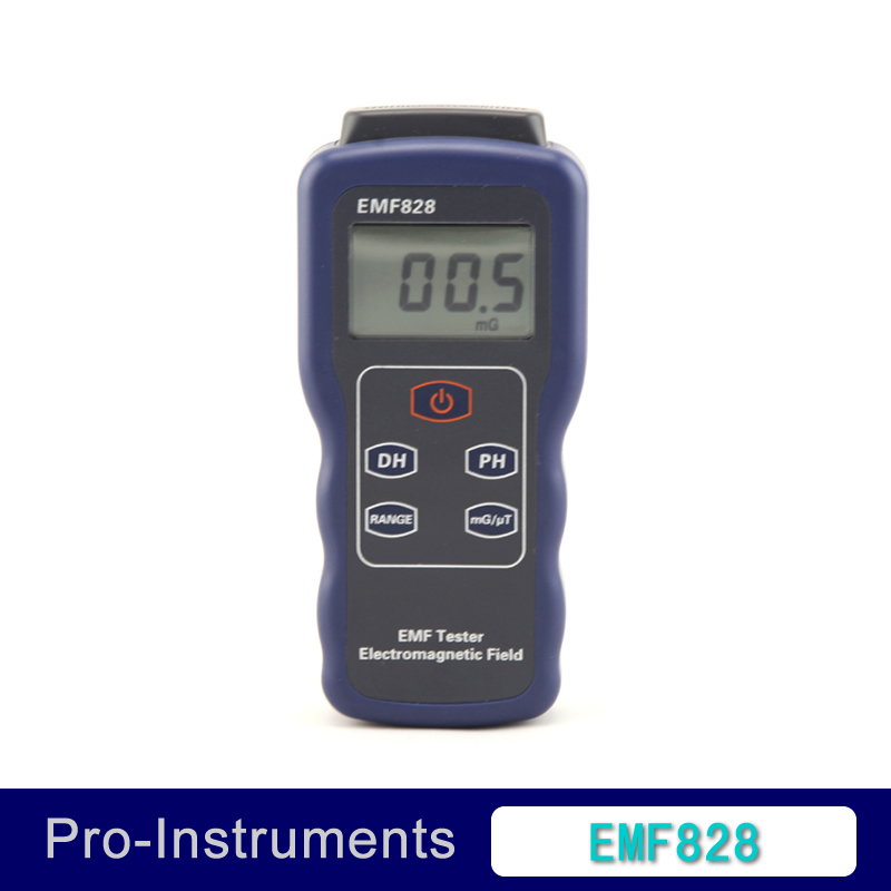 Professional Field intensity Indictor of Low Frequency Emf Meter EMF828, ELECTROMAGNETIC FIELD TESTER 0.1-400mG,1-4000mG<br>