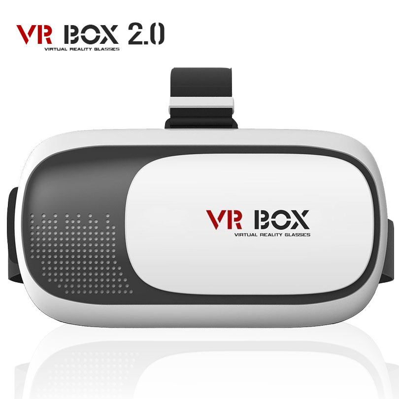 """VR BOX 2.0 Headset 3D VR Glasses Google Cardboard Virtual Reality Glasses For 4.0""""-6.0"""" Smartphone With Bluetooth Remote Control(China (Mainland))"""