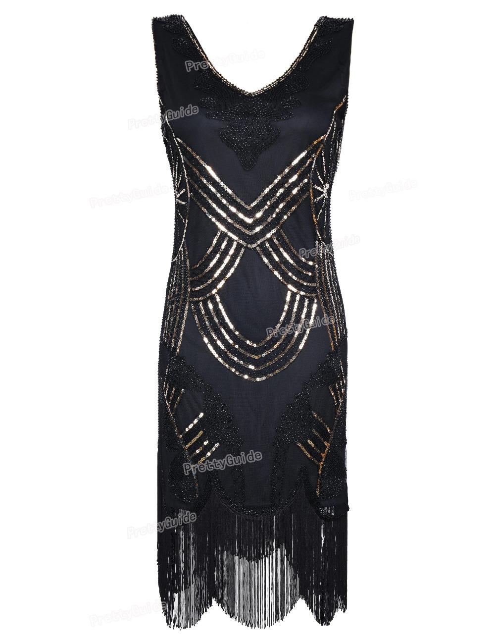 PrettyGuide Women's 1920s Vintage Gatsby Art Deco Beads ...