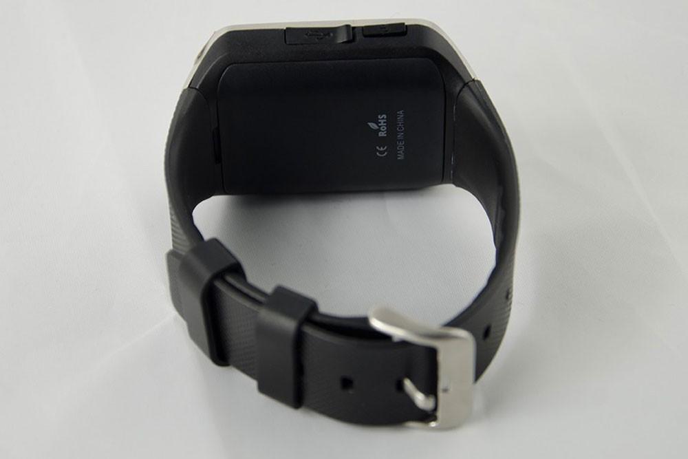 ถูก 2016ใหม่บลูทูธSmartwatch GV08กล้องกันน้ำออกกำลังกายSMSซิมการ์ดTFสมาร์ทนาฬิกาข้อมือนาฬิกาทำงานสำหรับIOSและAndroidโทรศัพท์