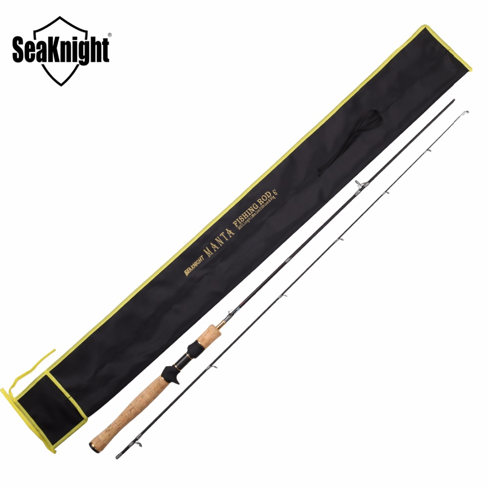 SeaKnight MANTA 602UL Ultra Light Casting Lure Fishing Rod 1.8M Lure Weight 0.8-5g 2 Sections Carbon Fishing Rod(China (Mainland))