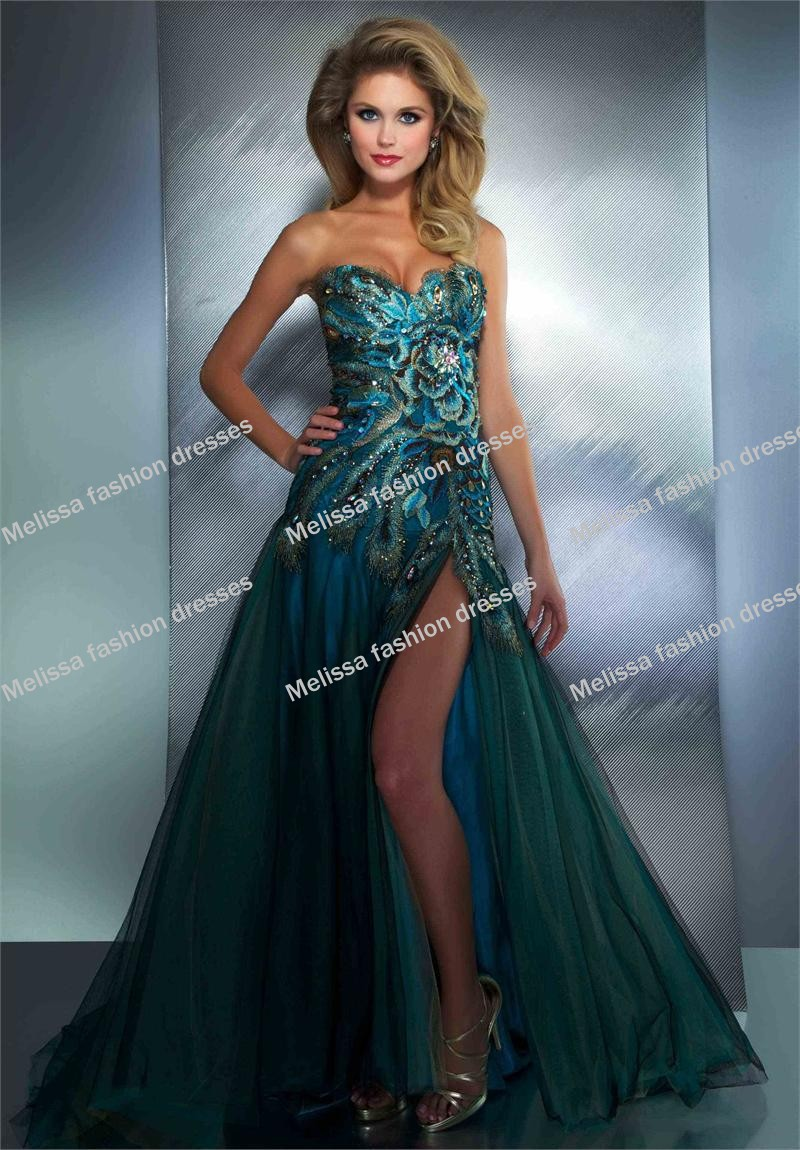 Feather Prom Dresses