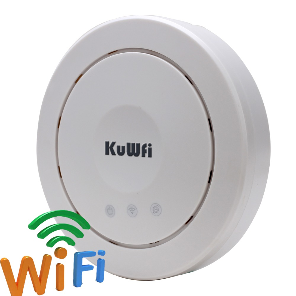 2.4Ghz 300Mbps Wifi Router Indoor Ceiling AP Wifi Signal Booster Expander Wifi Router PoE Adater RJ45 port(China (Mainland))
