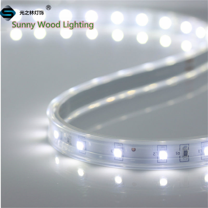led strip 3528 flexible neon Free shipping LED Sleeve strips 5m/roll led lights for home LED softstrips flexible led tape LSS-60(China (Mainland))