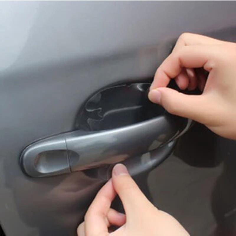 4PCS Door handle protection film For VW jetta Golf 6 POLO Passat Cruze kIA RIO K2
