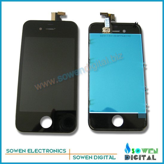 for iPhone 4G 4S CDMA LCD display with touch screen digitizer assembly,Black or White,100% quality assurance