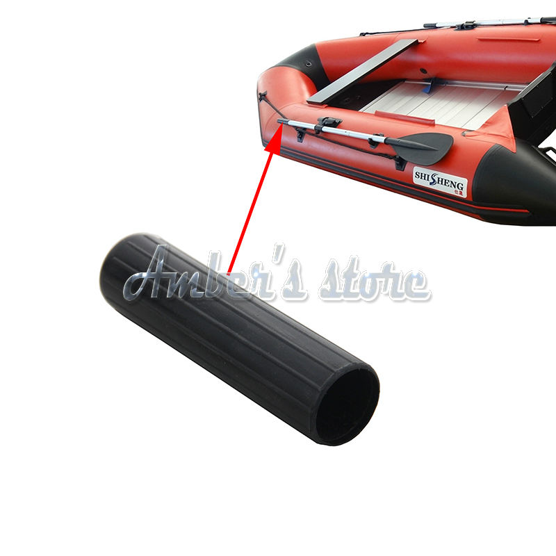 2pcs Oars Paddle Handle Head of PVC Parts Kayak Fishing Boat Inflatable Boat Accessories(China (Mainland))
