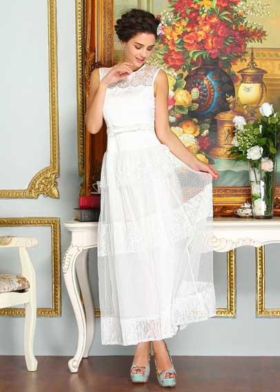 dressy white dress_Other dresses_dressesss