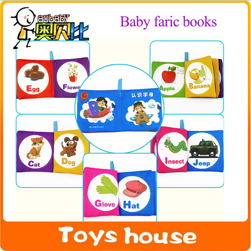 1pc baby quiet book cloth book Learning & Education educational toys for toddlers learning resources childrens books(China (Mainland))