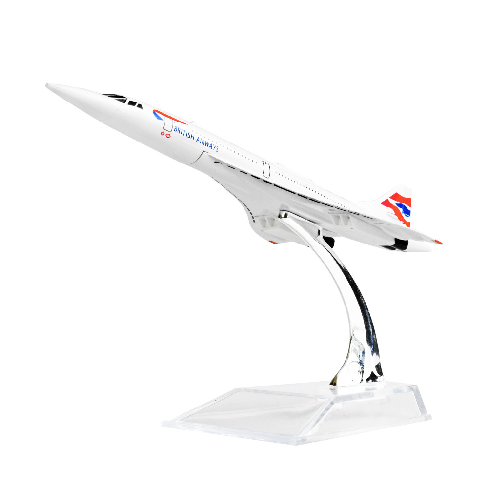 The Air BRITISH F-BVFB Concorde 16cm metal airplane models child Birthday gift chiristmas gift plane models Free Shipping(China (Mainland))