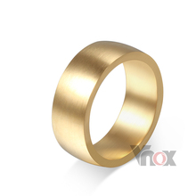 Fashion rings for friend simple gold plating ring