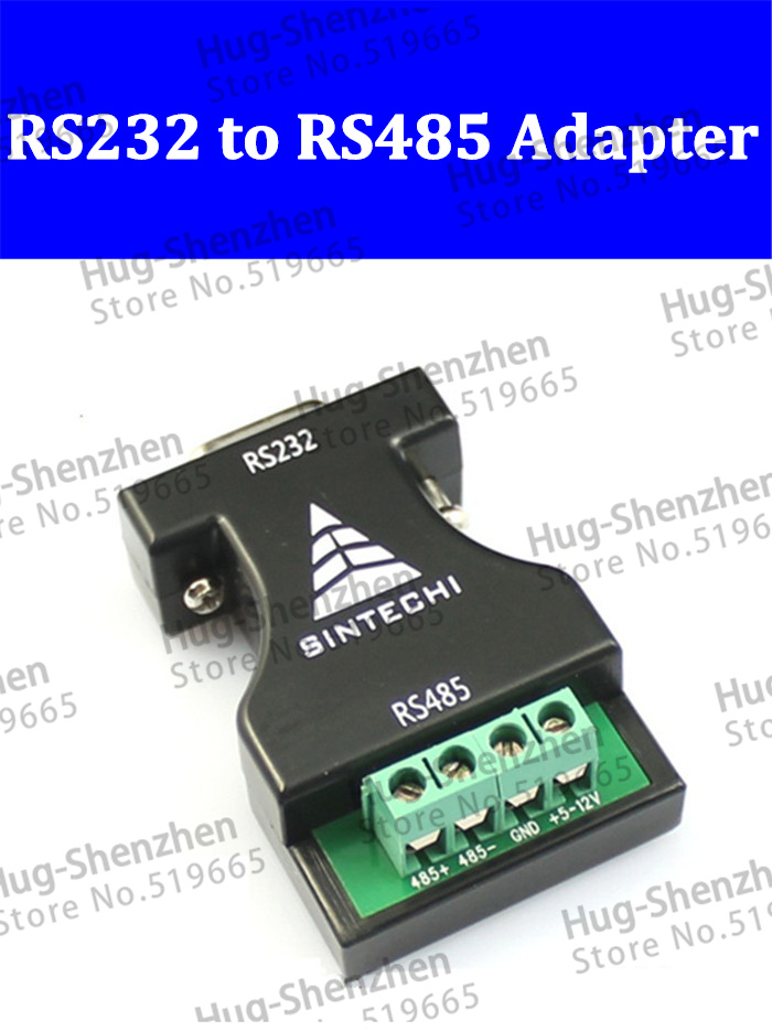 5pcs RS232 to RS485 adapter switch 232 turn 485 adaptor 485 communication adapter converter(China (Mainland))