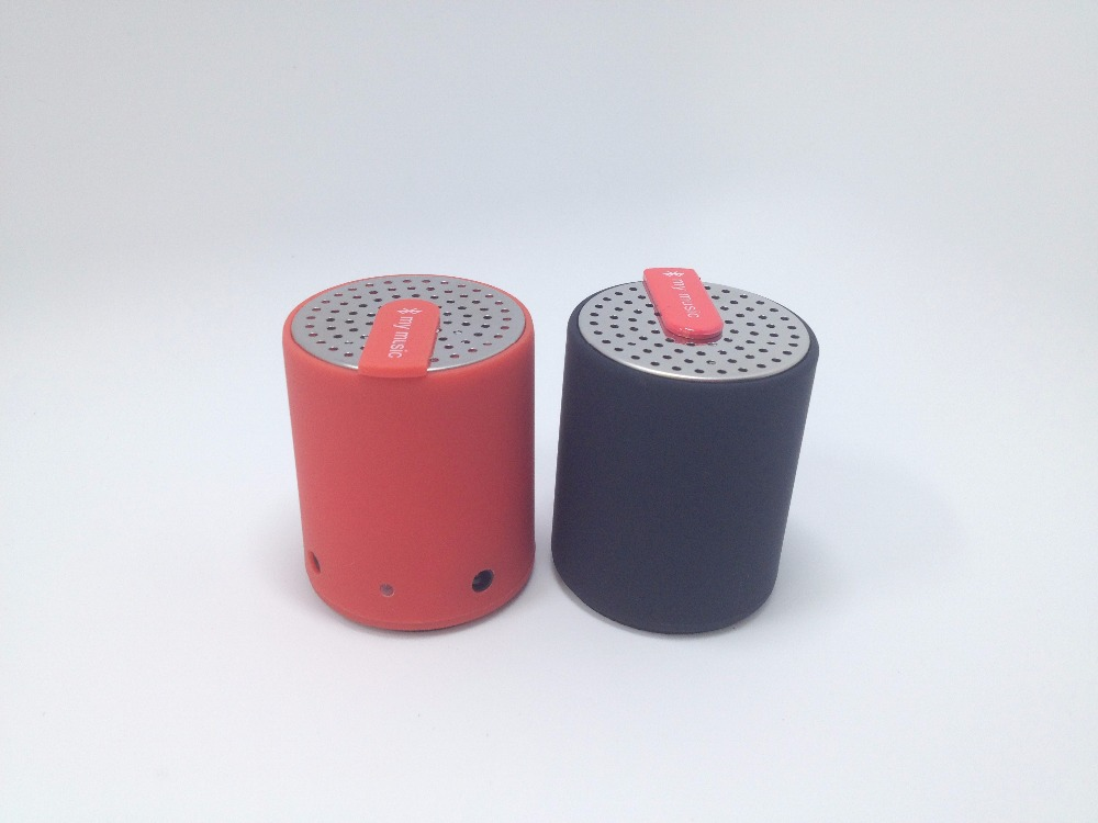 New 2015 Portable Mini Bluetooth Speakers Metal Rubber Wireless Smart Hands Free Speaker For iPhone for Samsung for Tablet PC<br><br>Aliexpress