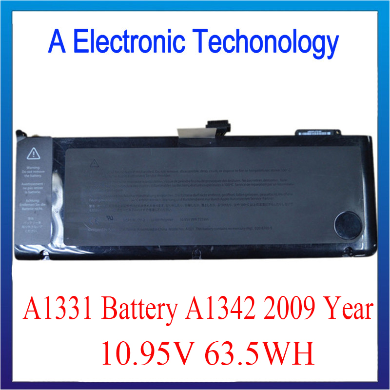 A1331 Battery For Macbook A1342 Rechargeable Battery 10.95v 63.5Wh  Original