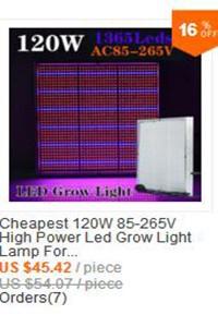 Освещение для растений 10w 85V 110V 265V & E27/GU10/E14